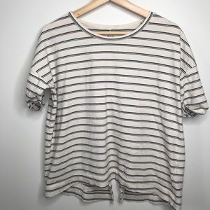 Madewell Cotton Crew Rolled Short Sleeve T-shirt